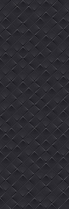 MONOCHROME MAGIC 40X120 DÉCOR BLACK GLOSSY