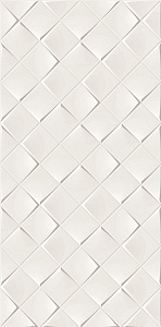 MONOCHROME MAGIC 30X60 DÉCOR WHITE GLOSSY