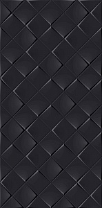 MONOCHROME MAGIC 30X60 DÉCOR BLACK MATT