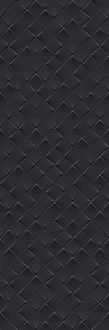 MONOCHROME MAGIC 40X120 DÉCOR BLACK MATT